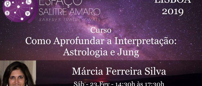 Curso de Márcia Ferreira Silva em Lisboa: Astrologia e Jung