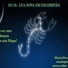 Lua Nova em Escorpião – Tempo de Mudanças!